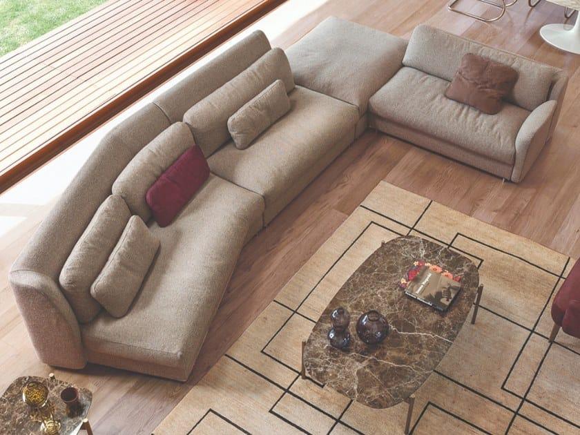 Corner sectional fabric sofa BLOOM   Sofa by CTS SALOTTI