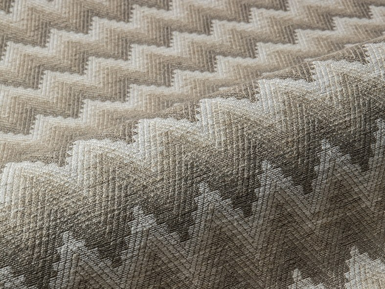 Upholstery fabric with graphic pattern BLOSSOM by Aldeco
