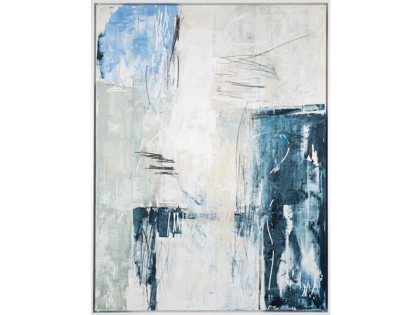 Canvas Painting Blue Art by NOVOCUADRO ART COMPANY