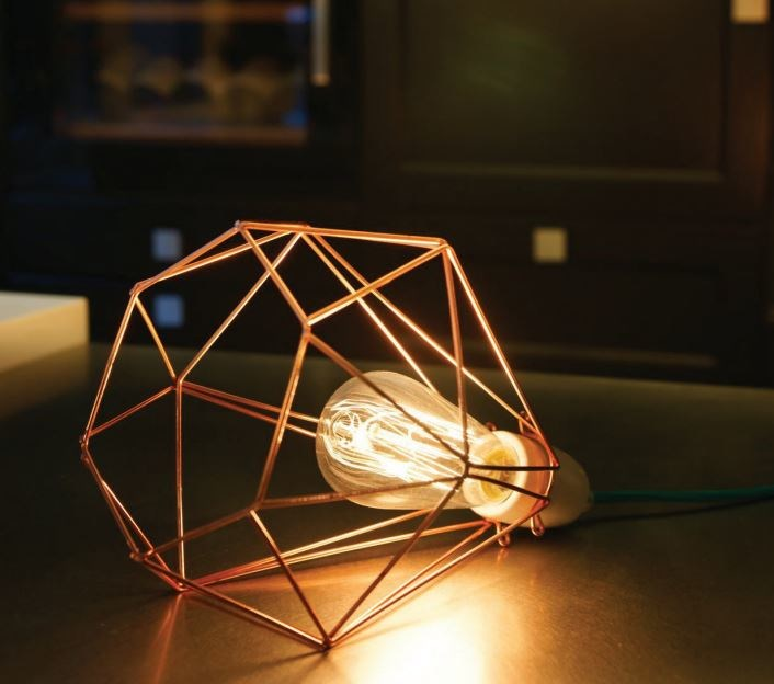 Wire cage table lamp lamp design ideas wire cage table lamp design ideas greentooth Choice Image