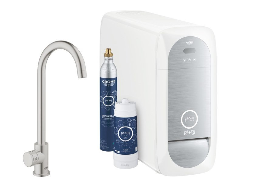 Metal water dispenser BLUE HOME 31498DC1 by Grohe