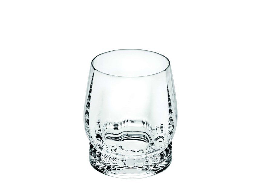 Crystal glass BLUE MING OLD FASHION | Glass by Vista Alegre