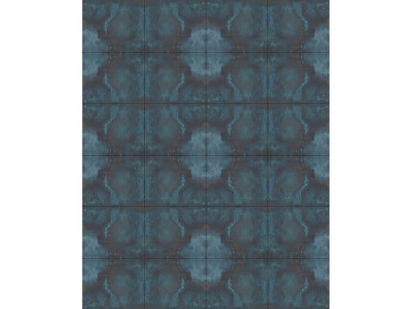 Leather rug BLUE OCEAN by Miyabi casa