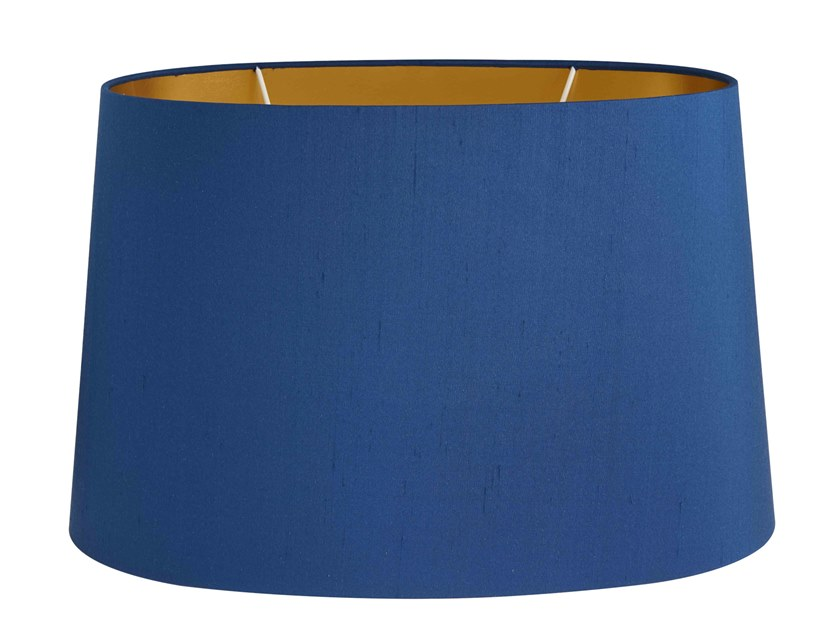 Fabric lampshade BLUE SILK | Lampshade by Vista Alegre
