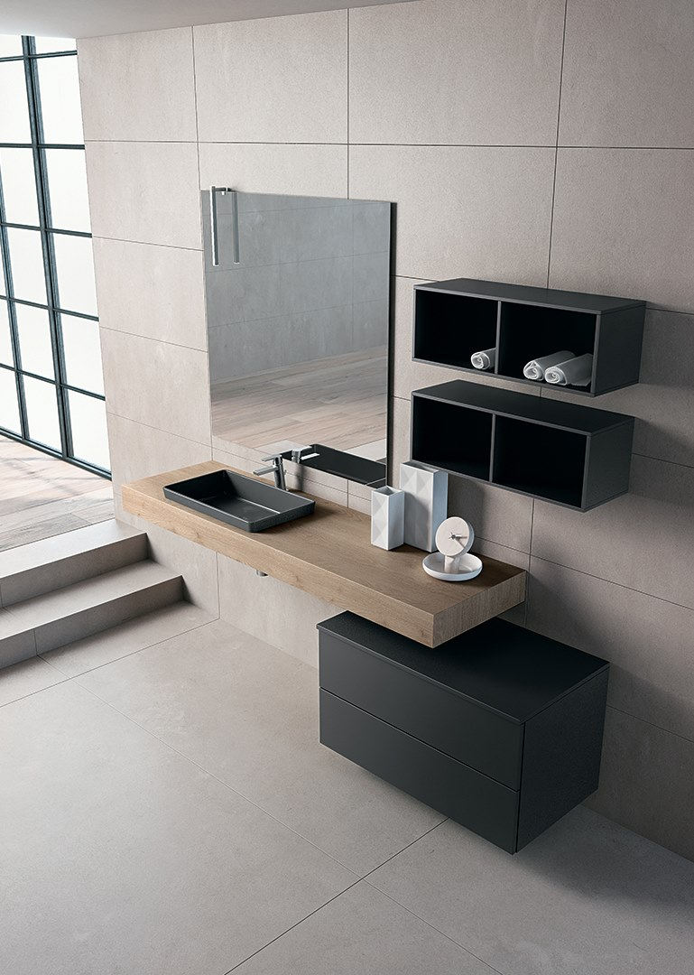 Piano lavabo / mobile bagno BLUES 2.07 - BMT