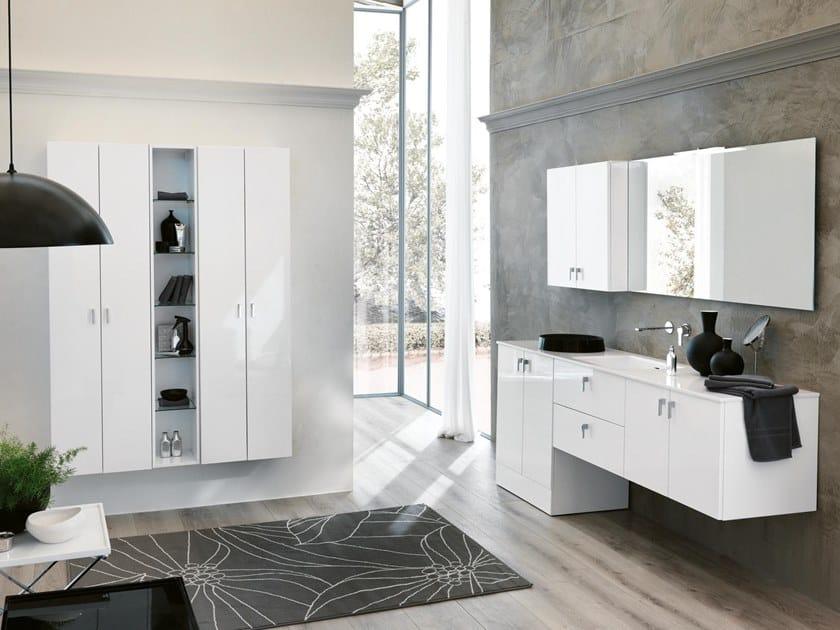 Mobile lavabo con specchio BLUES 21 by BMT