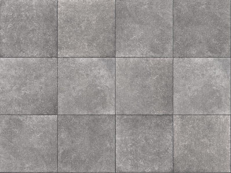 Porcelain stoneware outdoor floor tiles with stone effect BLUESTONE GREY 3 CM by GRANULATI ZANDOBBIO