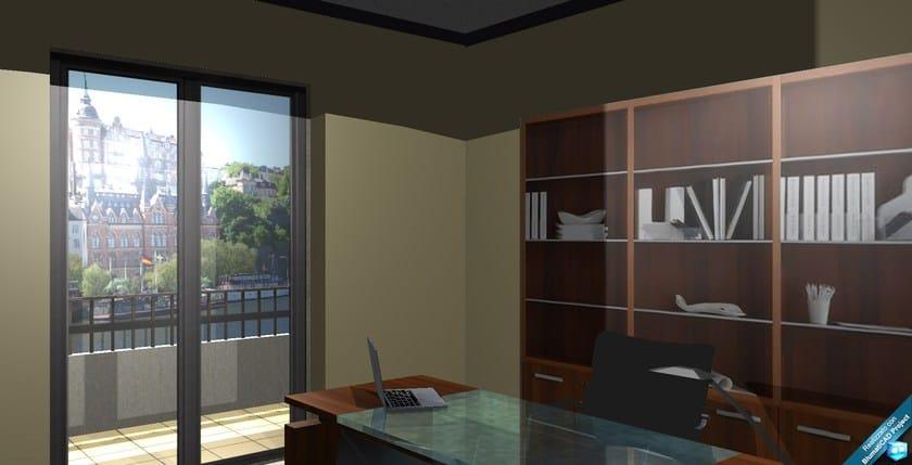 BlumatiCAD Project Prospettiva interno ufficio