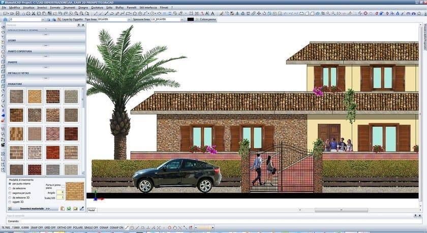 BlumatiCAD Project prospetto