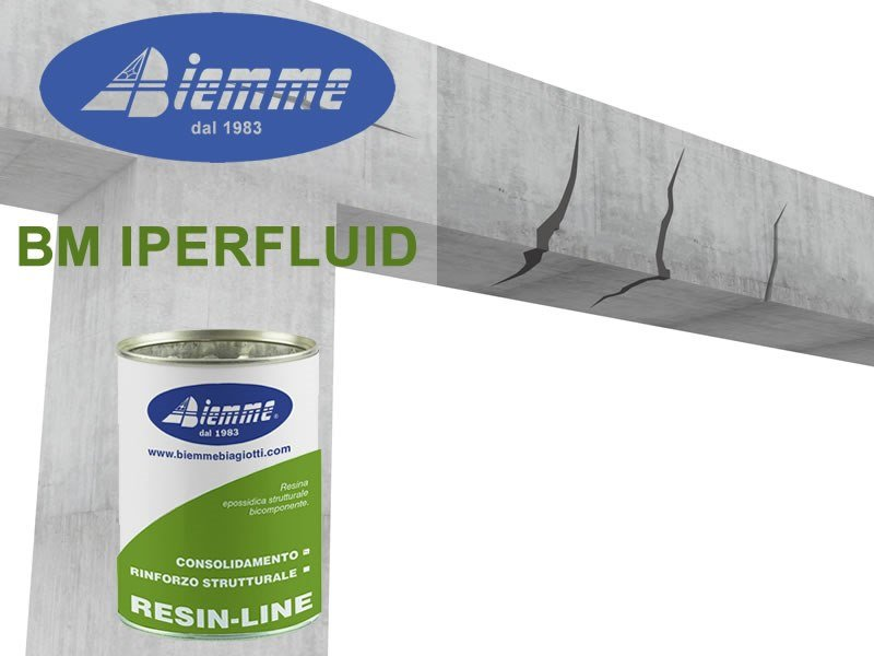 Structural adhesive BM IPERFLUID by Biemme