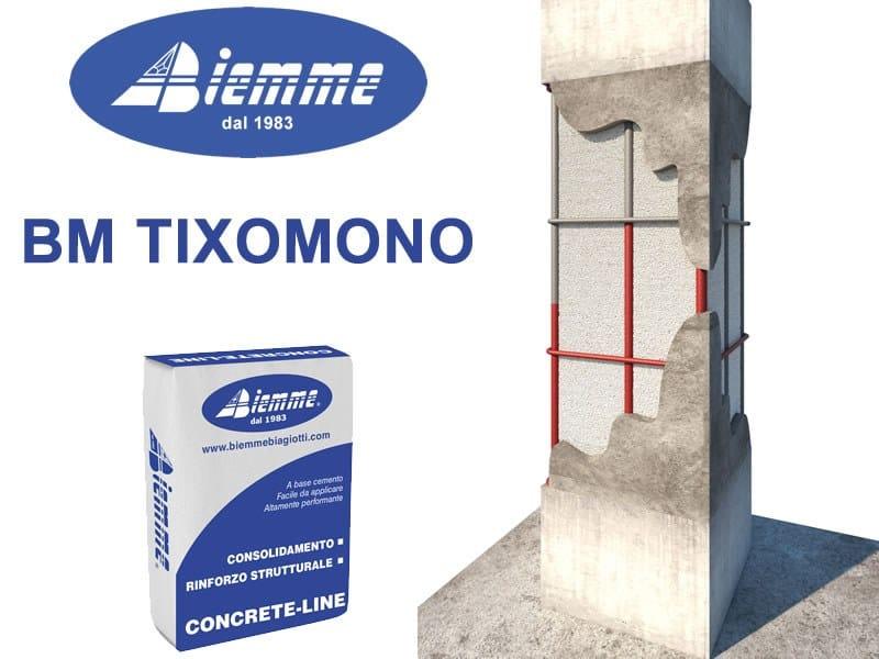 Fibre reinforced mortar BM TIXOMONO by Biemme