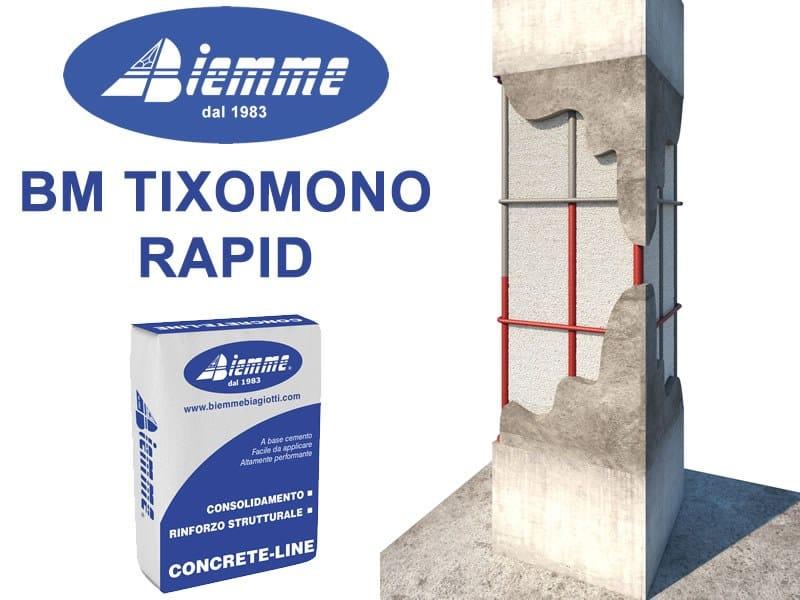 Malta fibrorinforzata BM TIXOMONO RAPID by Biemme