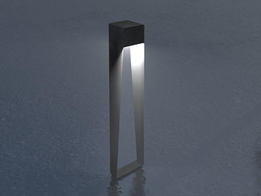Borne d'éclairage en acier galvanisé BNL 900 | Borne d'éclairage LED by LYX Luminaires