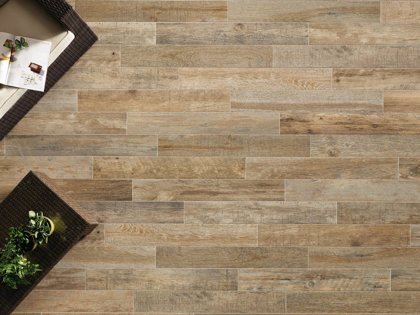 Porcelain stoneware wall/floor tiles with wood effect BOARDS AMBER by ASTOR CERAMICHE