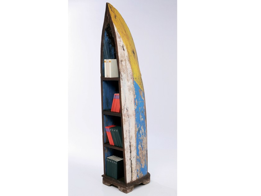 Open wooden bookcase BOAT TRIP | Bookcase by KARE-DESIGN
