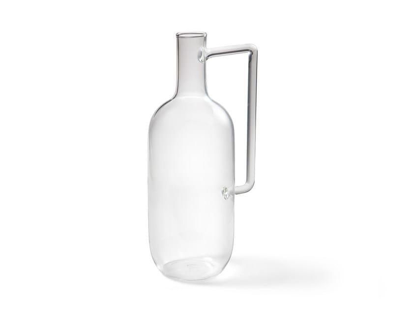 Borosilicate glass bottle BOCCIA by Atipico