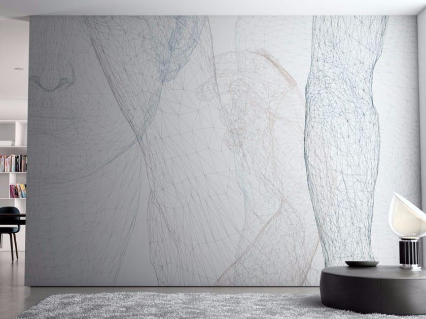 Washable vinyl wallpaper BODYWALL by GLAMORA