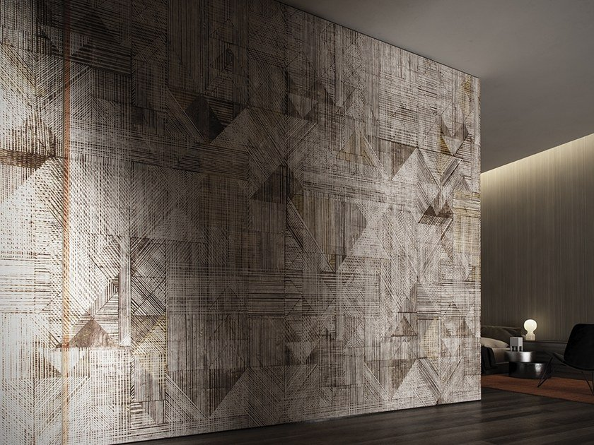Geometric wallpaper BOGOLAN by GLAMORA