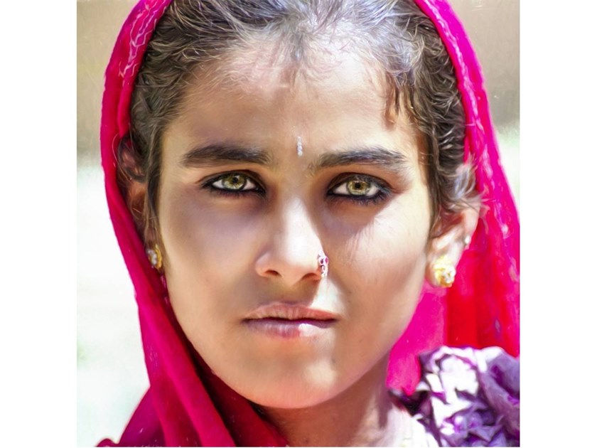 Stampa fotografica BOHEMIAN OF RAJASTHAN by Artphotolimited