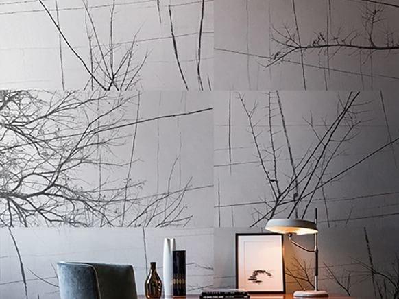 Papier Peint Bois D Hiver Collection Contemporary Wallpaper 2017 By