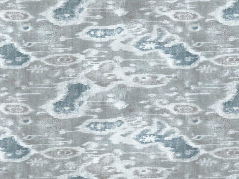Printed linen fabric BOLINAS by KOHRO