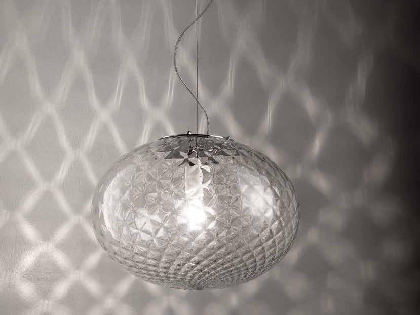 Murano glass pendant lamp BOLLA LS 621 by Siru