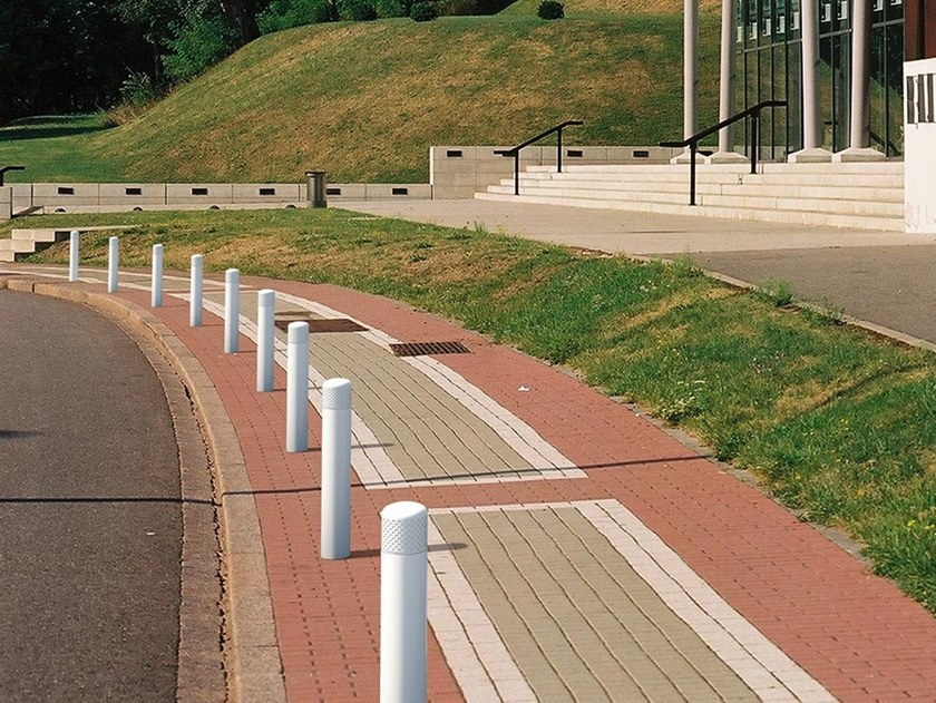 Fixed metal bollard post KEO | Bollard by GHM-ECLATEC