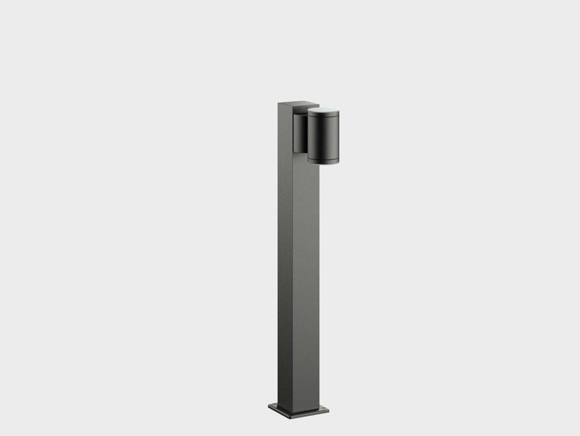 LED aluminium bollard light ONE4TWO BOLLARD by Cariboni group