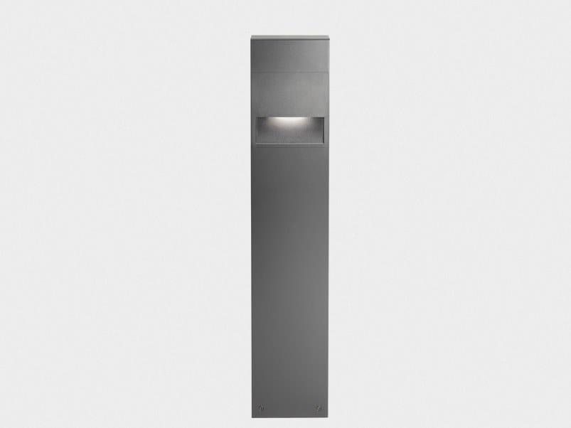 Paletto luminoso a LED in alluminio pressofuso APLOS | Paletto luminoso by Cariboni group