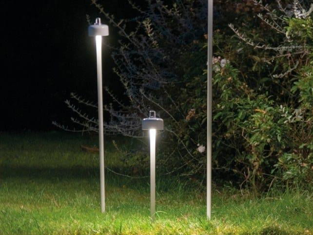 LED ABS bollard light LUCIOLE   Bollard light by emu
