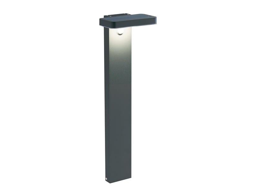 Paletto luminoso a LED ad energia solare in alluminio SOLARE | Paletto luminoso by SOVIL