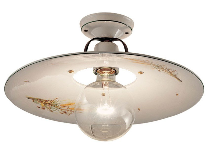 Ceramic ceiling light BOLOGNA | Ceiling light by FERROLUCE