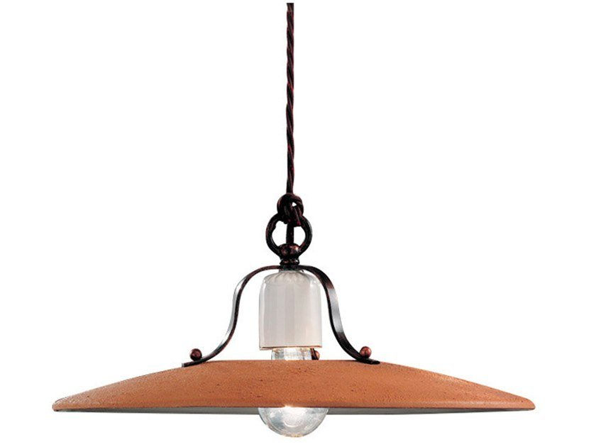 Direct light ceramic pendant lamp BOLOGNA | Pendant lamp by FERROLUCE