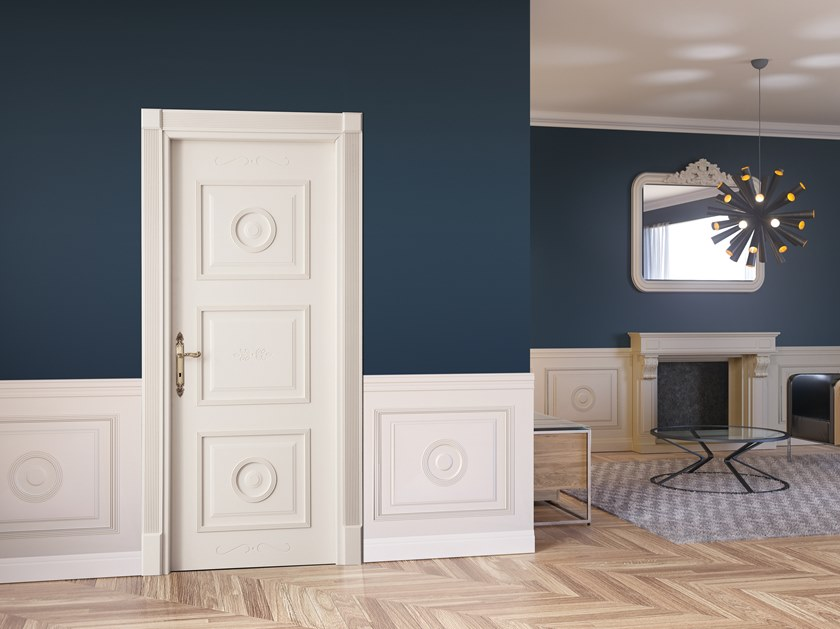 Hinged lacquered door BONAPARTE by DIERRE