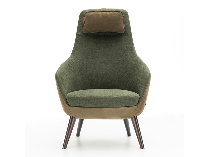 Armchair with headrest BONOLA by NICOLINE
