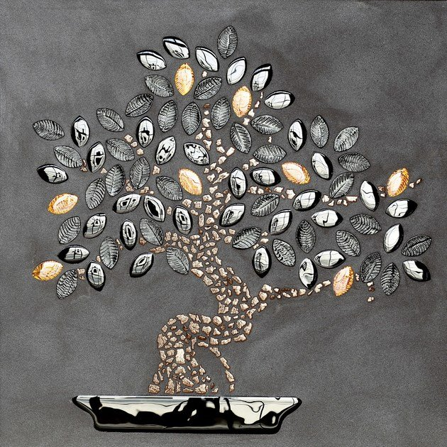 Glass mosaic BONSAI by VETROVIVO