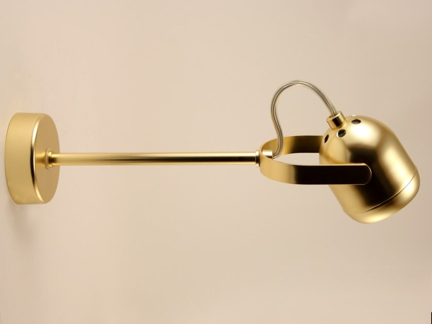 LED wall-mounted adjustable metal spotlight BOOGIE MINI C | Wall-mounted spotlight by Luz Difusión
