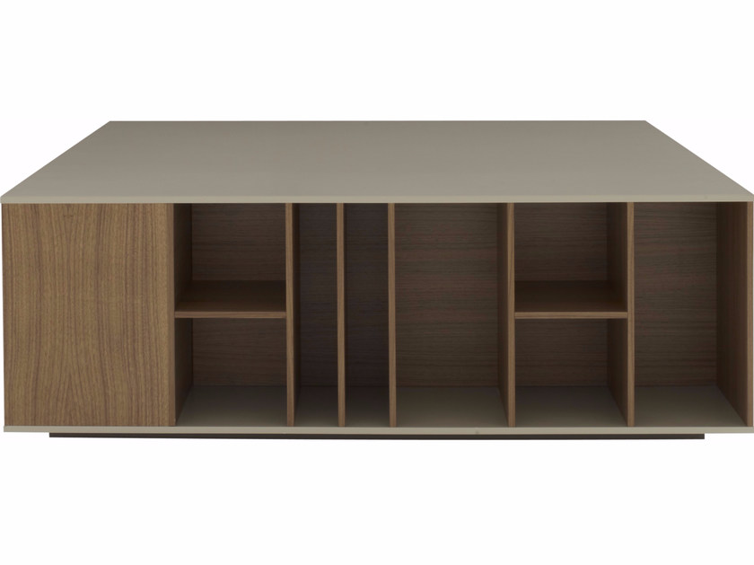 MDF coffee table with integrated magazine rack BOOK&LOOK   Coffee table by Ligne Roset
