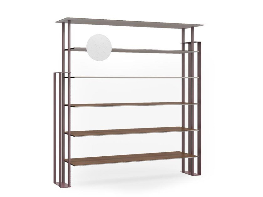 Open freestanding bookcase PLS | Bookcase by Boffetto