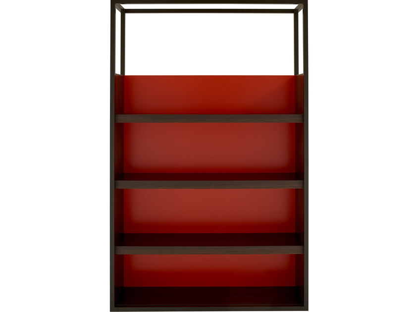 Open wood veneer bookcase DEDICATO | Bookcase by Ligne Roset
