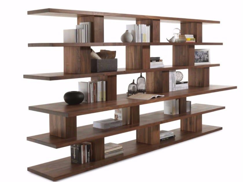 Libreria a giorno in legno massello BOOKSHELF | Libreria in ...