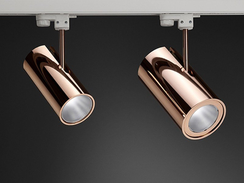 A Led Puraluce 25 Alluminio In Boomer Illuminazione Binario TFcJlK1