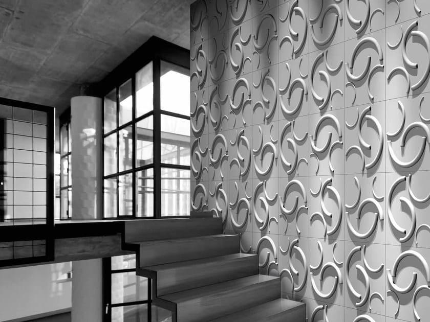 Bamboo fibre 3D Wall Cladding BOOMERANG by RECORD - BAGATTINI