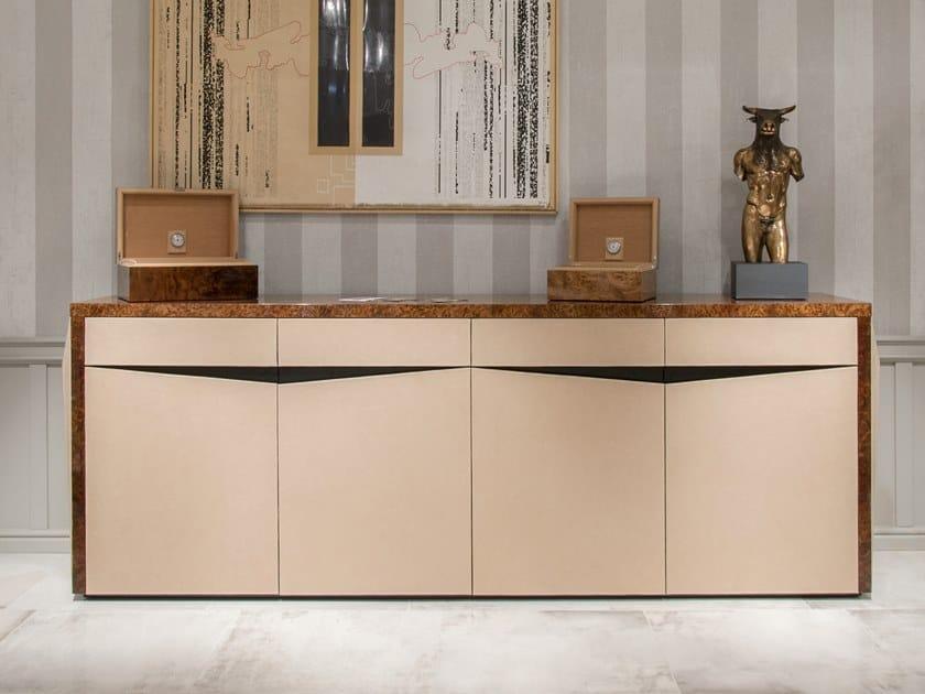Deerskin office storage unit BOOSTER | Office storage unit by Tonino Lamborghini Casa