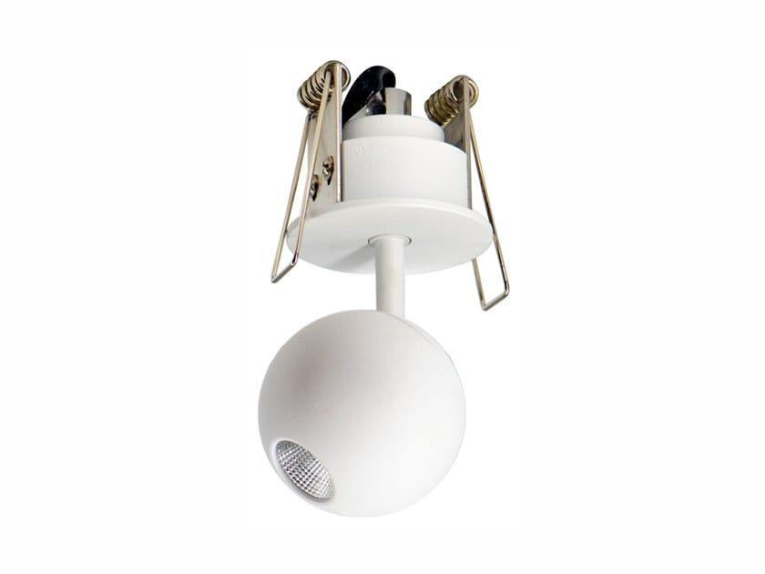 Faretto a LED in alluminio con morsetto da incasso BORA | Faretto da incasso by BENEITO FAURE