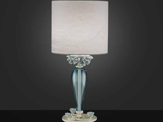 Lampada da tavolo in cristallo BORA LP1 by Euroluce Lampadari