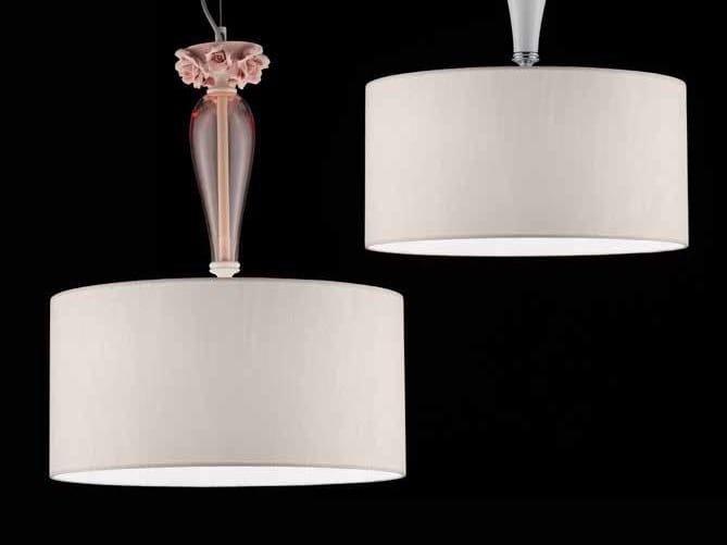 Lampada a sospensione in cristallo BORA S1 SHADE by Euroluce Lampadari