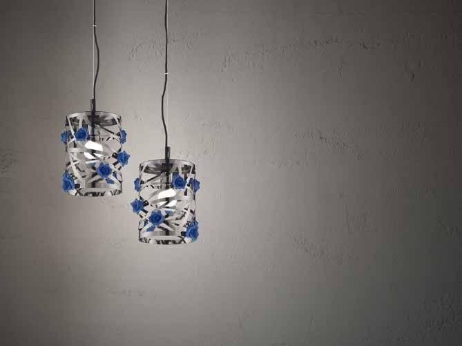 Metal pendant lamp BORA S1 SMALL by Euroluce Lampadari