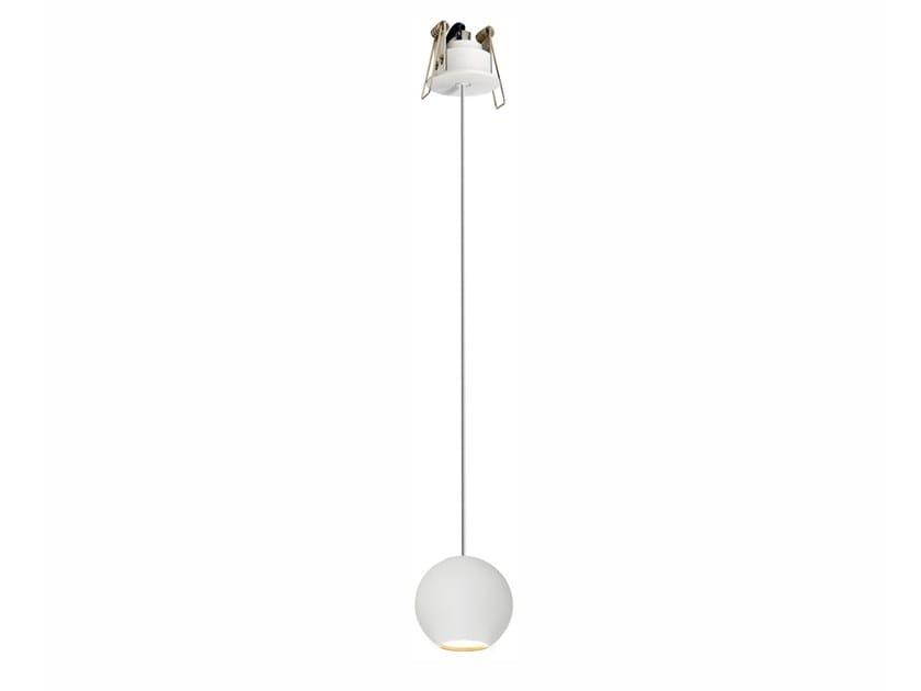 Lampada a sospensione a LED in alluminio BORA | Lampada a sospensione in alluminio by BENEITO FAURE