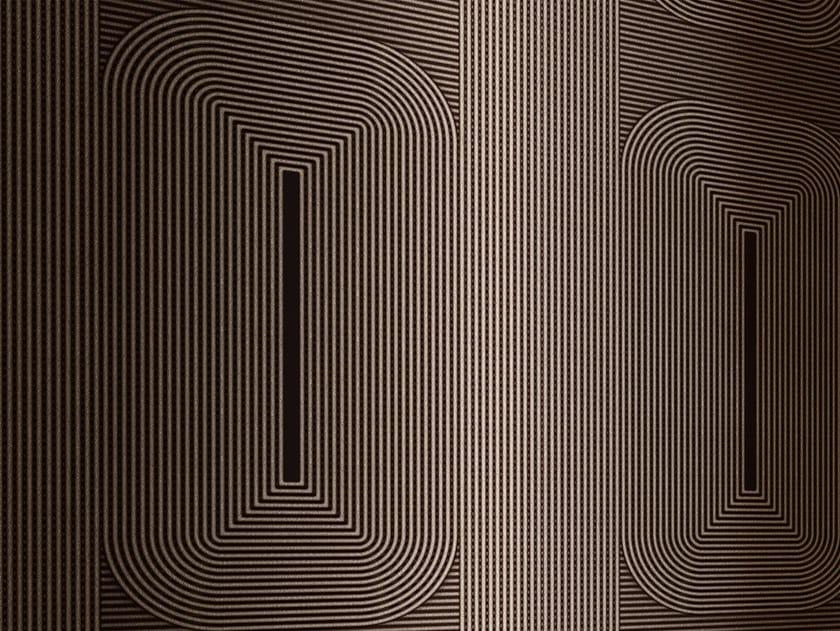 Striped wallpaper BORDER LINES by Wall&decò